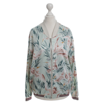 Maison Scotch Giacca Bomber con stampa