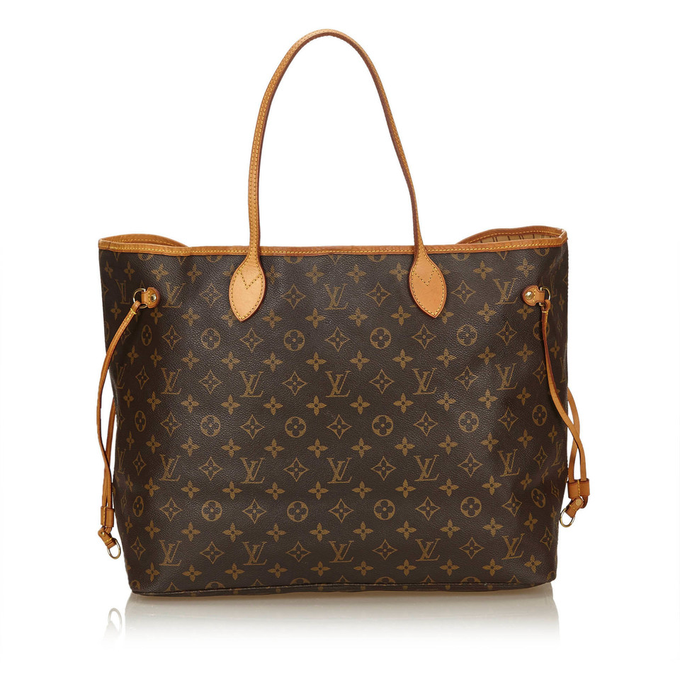 louis vuitton neverfull gm monogram canvas second hand louis vuitton neverfull gm monogram. Black Bedroom Furniture Sets. Home Design Ideas