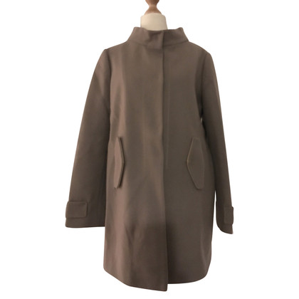 Schumacher Short coat in taupe