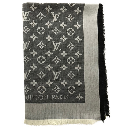 Louis Vuitton Monogram denimdoek in zwart