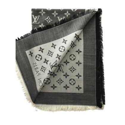 Louis Vuitton Panno denim Monogram in nero
