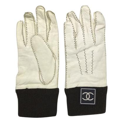 Chanel Handschoenen van leer / kasjmier
