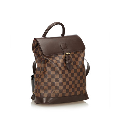 """Louis Vuitton """"Soho Backpack Damier Ebene Canvas"""""""