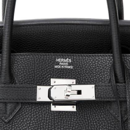Hermès Birkin Bag 40 Togo Noir / Palladium