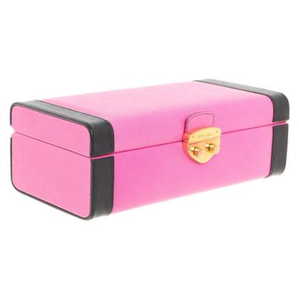 Prada Jewelery box in pink