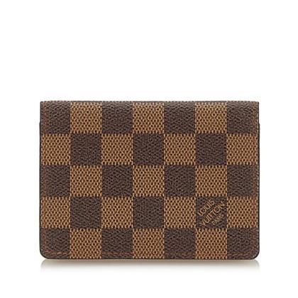 Louis Vuitton Porta carte da Damier Ebene Canvas