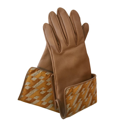Hermès lederen handschoenen