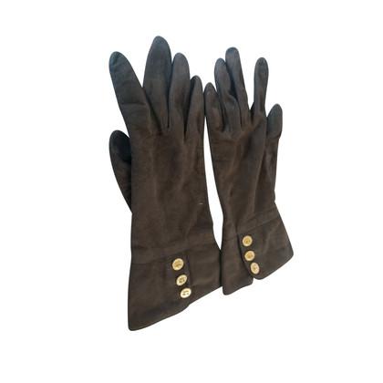 Chanel Suède handschoenen