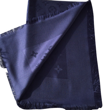 Louis Vuitton Monogram cloth in night blue