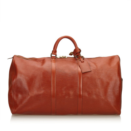 "Louis Vuitton ""Keepall 60 Epi Leather"""