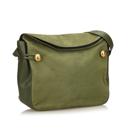 Gucci Nubuck Leather Shoulder Bag