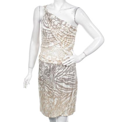 Hale Bob Zijden jurk met luipaard print