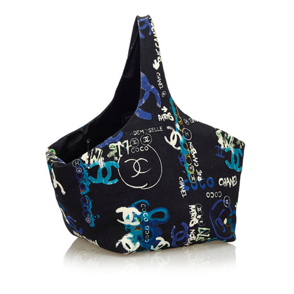 "Chanel ""Graffiti Cotton Tote"""