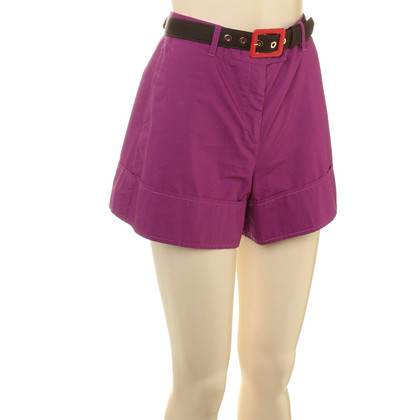 Moschino Shorts in Violett