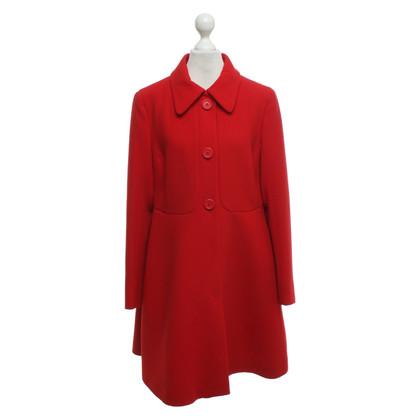 Miu Miu Wool coat in red