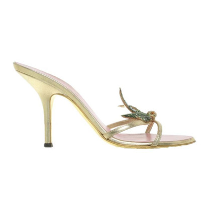 Dsquared2 Sandals in Gold