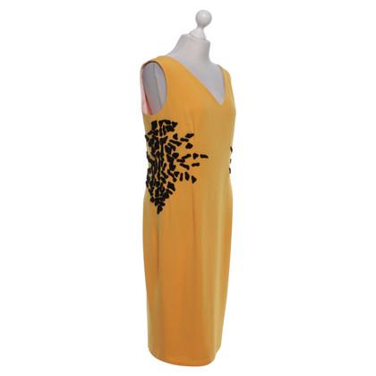 Escada Dress in mustard yellow