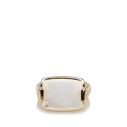 "Bulgari ""18K Chalcedony Metropolis Cocktail Ring"""