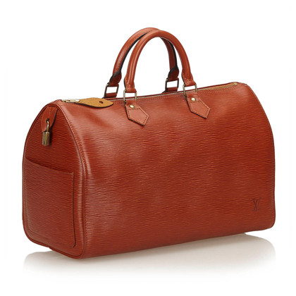"""Louis Vuitton """"Speedy 35 epi leather"""""""