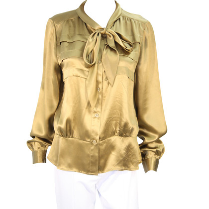 French Connection Silk blouse in Ocker