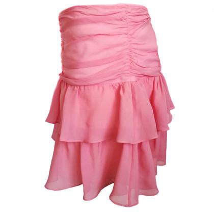 Pinko Silk skirt with volants