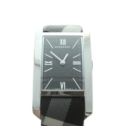Burberry Prorsum Uhr mit Nova-Check-Muster