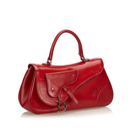"Christian Dior ""Single Flap Saddle Handbag"""