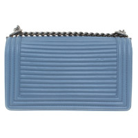 "Chanel ""Boy Bag"" in Blau"
