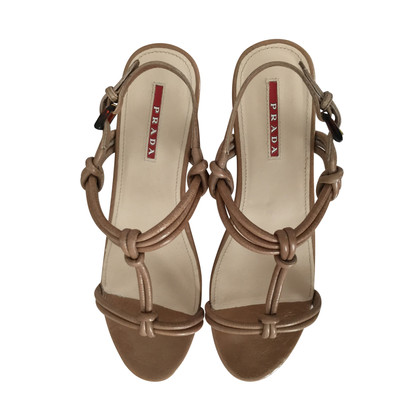 Prada Sandals with cork sole