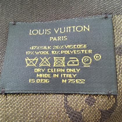 Louis Vuitton Panno monogramma lucido in marrone