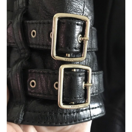 Suche Nach Online Für Schöne Online Gucci Lederjacke Schwarz Online Billige Truhe Bilder sbSM0EP4