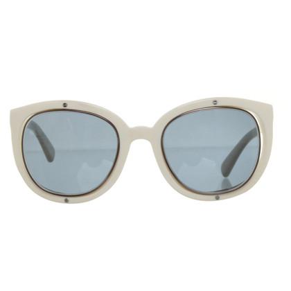 Jil Sander Occhiali da sole con lenti blu