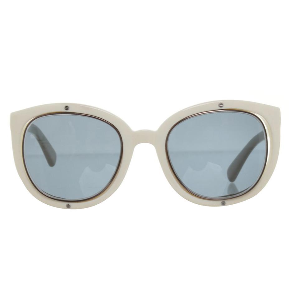 jil sander sonnenbrille mit blauen gl sern second hand