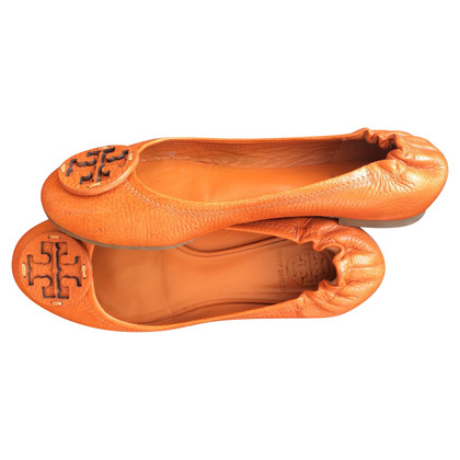 Tory Burch Ballerinas in orange