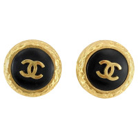 Chanel Gold plated earrings