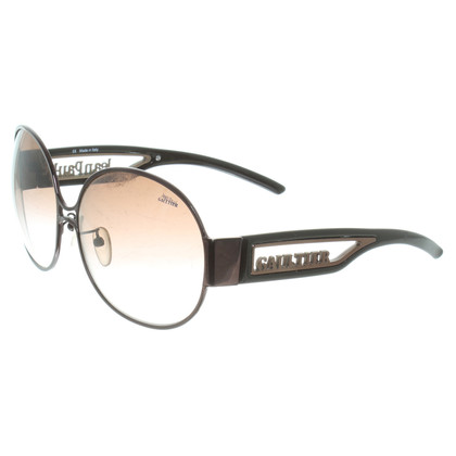 Jean Paul Gaultier Sonnenbrille in Braun