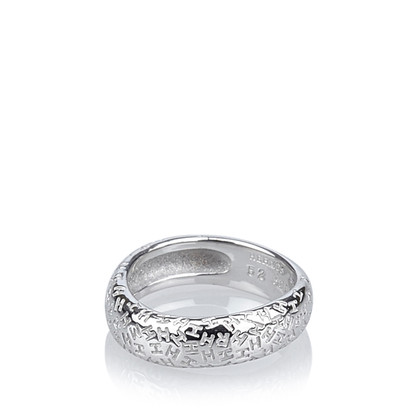 Hermès White gold ring