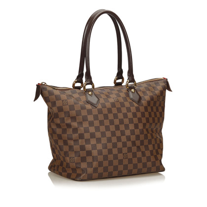"Louis Vuitton ""Cancas Saleya MM"" Damier Ebene"