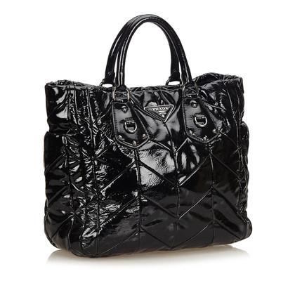 Prada Lackleder Tote Bag