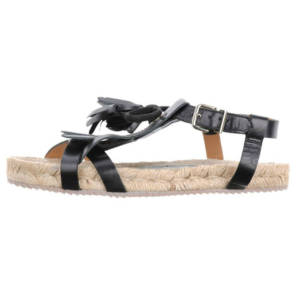Hoss Intropia Sandals in black