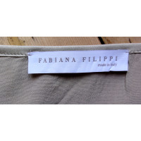Fabiana Filippi Light gray silk shirt