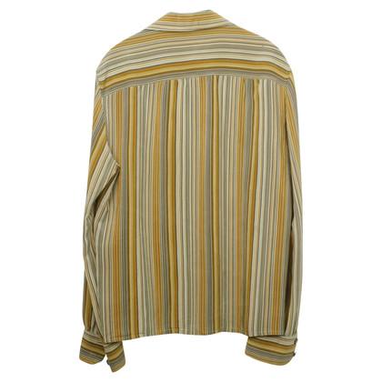 Céline Silk blouse with striped pattern