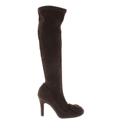 Etro Suede boots in brown