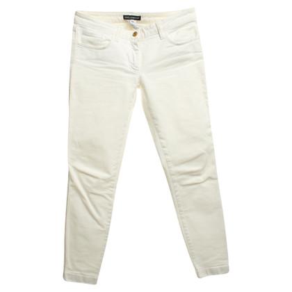 Dolce & Gabbana Jeans in white