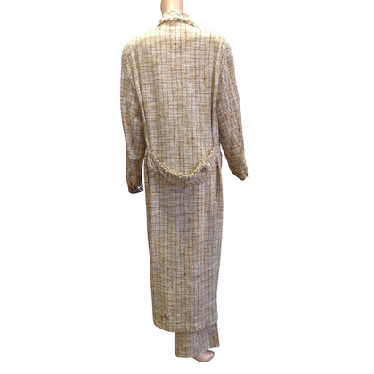 Chanel cappotto vintage di Chanel con pantaloni di corrispondenza