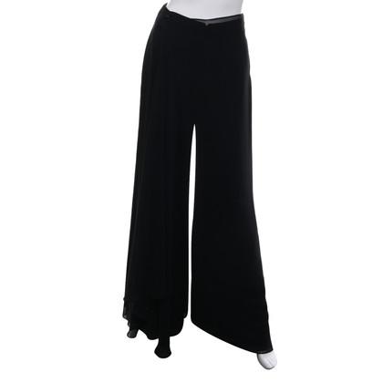 Talbot Runhof Pantaloni in nero