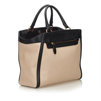 Prada Handtasche aus Canvas/Leder
