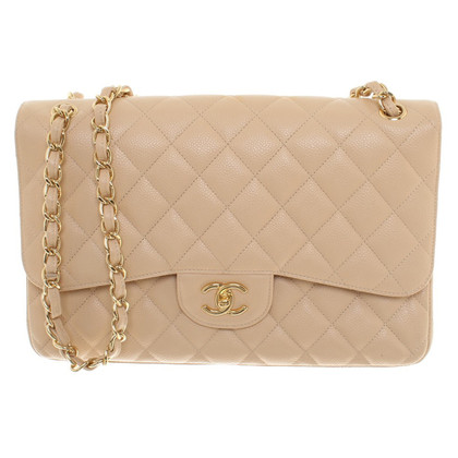 "Chanel ""Jumbo Flap Bag"" in crème"