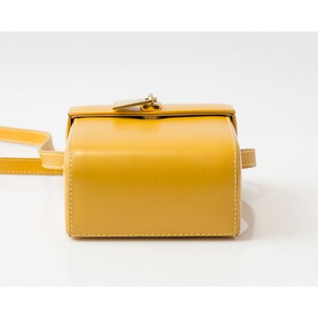 Lancel Umhängetasche aus Leder Gelb Auftrag Verkauf Besuch Neu wA1BDh