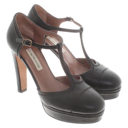 L'autre Chose Sandales en noir